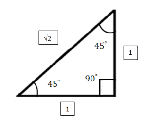 Triangle with lengths and angles